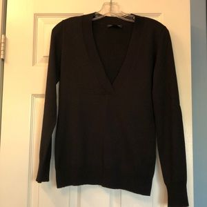 Black v neck sweater. Banana Republic size S.